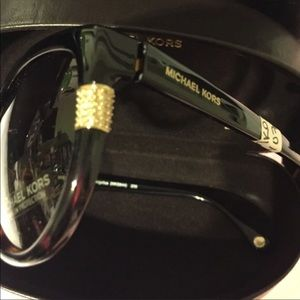 Michael Kors Sunnies Angelina With Crystals NEW
